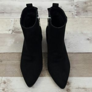 A New Day Valerie Microsuede City Ankle Bootie